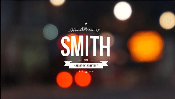 Wordpress 3-9 Smith