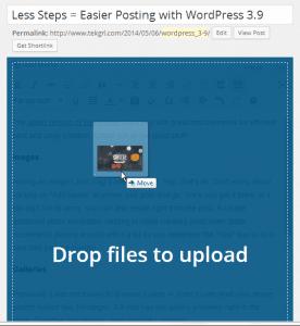 drag upload images