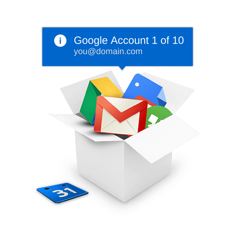 Wrangling Your Google accounts