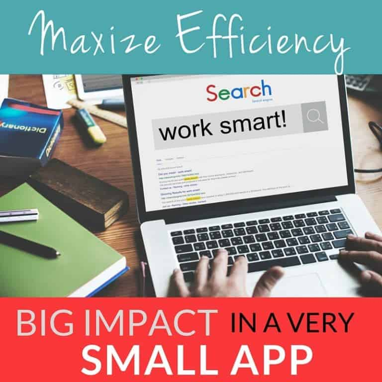 Maximize Efficiency with a Big Impact from a Small App