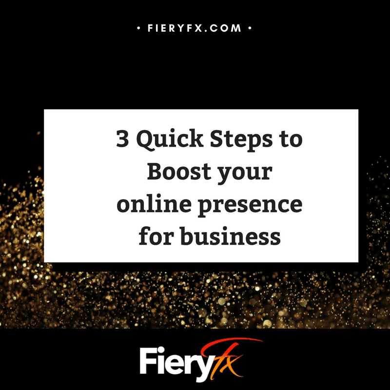 Steps Boosting Mental Health: 3 Quick Steps To Boost Your Online Presence For Business