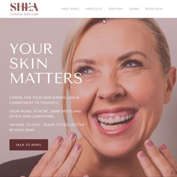 Shea Clinical Skin Care - April Shea