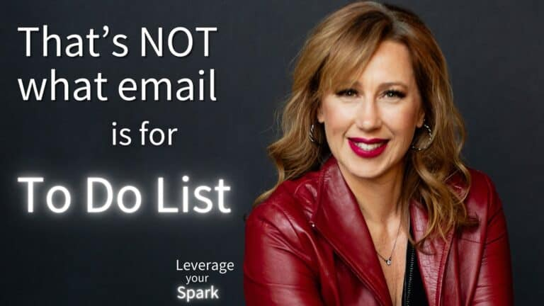 That's NOT What Email Is for: Your To-do List Is Dying in Your Inbox