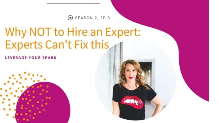 Why NOT to Hire an Expert: Experts Can't Fix this