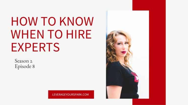 How to Know When You're Ready to Hire An Expert